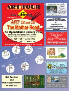 Art Tour On And Off The Mother Road Route 66